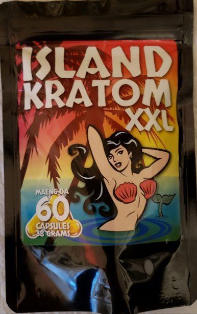 Island Kratom XXL Maeng Da Kratom Capsules